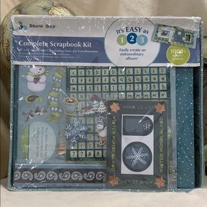 Complete Scrapbook Kit 1000+ Pieces. NEW.